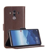 For Huawei Mate 10 Pro Crazy Horse Pattern Wallet Leather Case - Coffee - $8.58