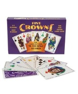 Five Crowns The Five Suited Rummy-Style Card Game SET Enterprises Maker ... - $22.50