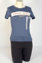 Tommy Hilfiger Signature Blue Short Sleeve Tee T Shirt Womens Medium M NWT - $22.27