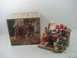 Grandeur Noel Collector's Edition Musical Illuminated Santa Clause Figurine - $28.01