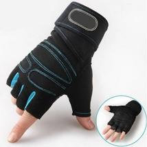 Gym Gloves Heavyweight Sports Exercise Weight Lifting Gloves Body Buildi... - $12.58