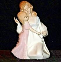 Mother and Child Figurine 1990 Paul Sebastian AA19-1684 Vintage
