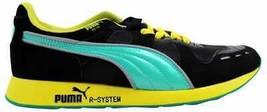 Puma RS100 HL Black/Teal-Green Sheen 356616 01 Men's - $70.86