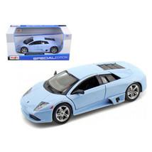 Lamborghini Murcielago LP640 Baby Blue 1/24 Diecast Model Car by Maisto ... - $28.33