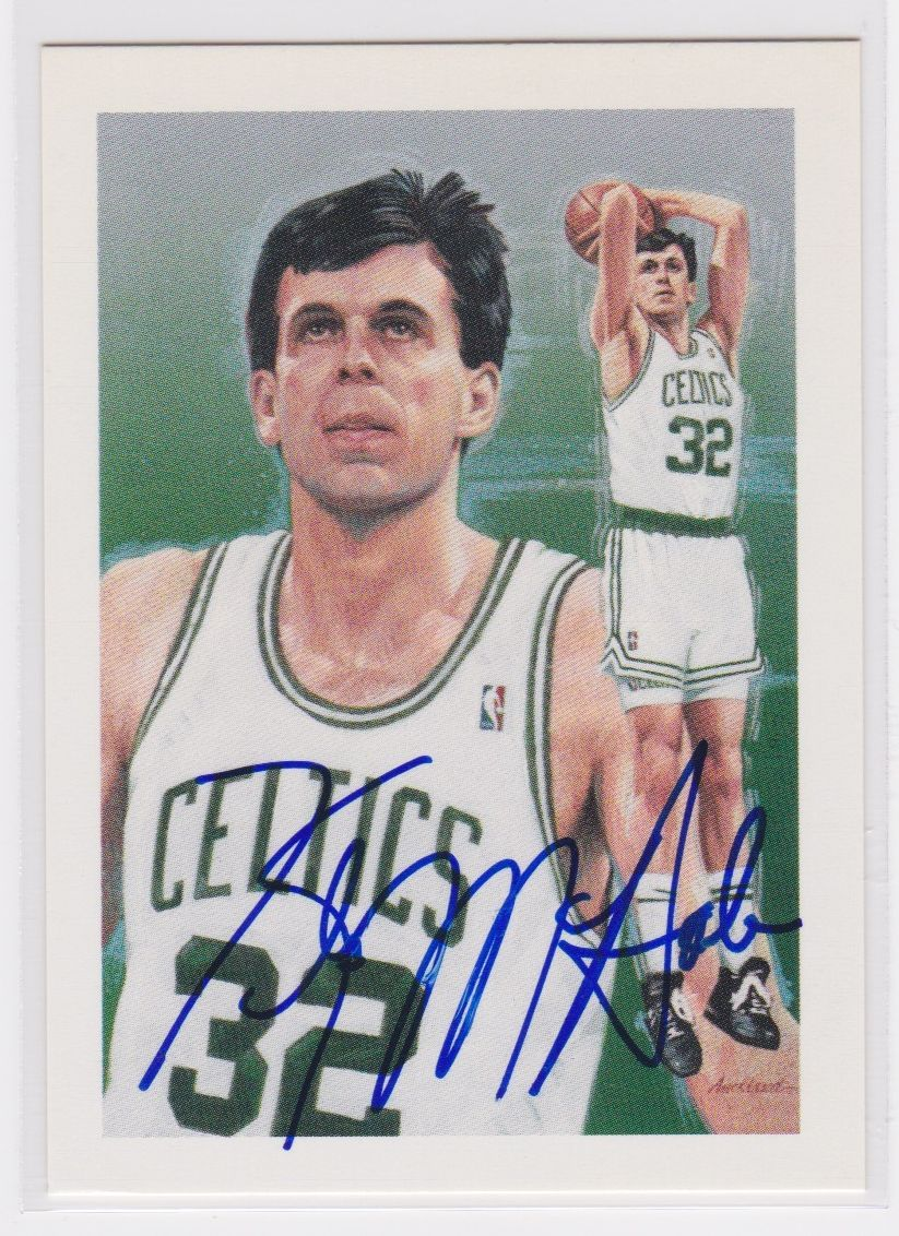 Kevin McHale Signed Autographed Basketball Card - Boston Celtics