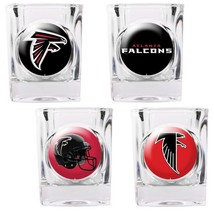 Atlanta Falcons 4 piece Collector's Shot Glass Set  - $35.66