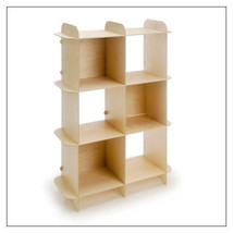 Vertical PlyGrid Storage Shelving  by Offi & Co. ###ON SALE### - $209.00