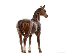 Hagen Renaker Miniature Horse Thoroughbred Race Swaps Ceramic Figurine Boxed image 6