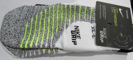 1 Pair Men's Nike Grip Quarter Socks Size XL (Shoe Size 12-15) - $19.99