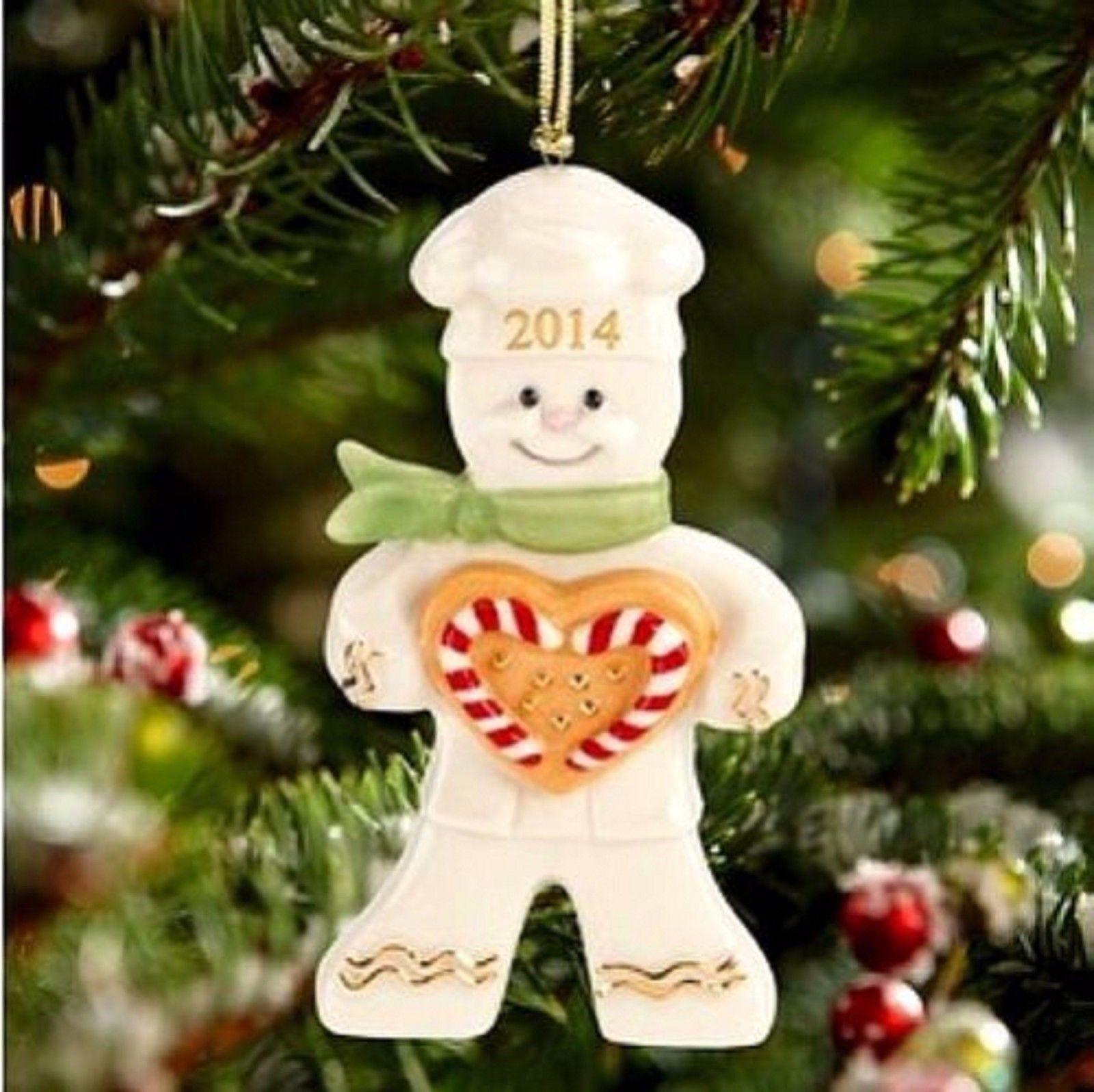 Lenox 2014 Gingerbread Man Ornament Annual And 50 Similar