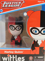 Harley Quinn Wittles Wooden Doll Entertainment Earth Marvel Comics New I... - $8.38
