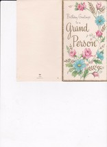 Vintage Birthday Greetings to a Grand Person #1216   - $3.55