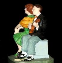 """Serenade"" by Norman Rockwell Figurine AA19-1659 Vintage image 2"