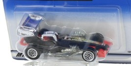 1998 Hot Wheels First Editions Black Super Modified Dragster Race Car