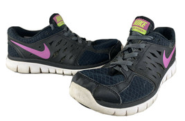 Womens NIKE FLEX 2013 RUN Black Running Shoes 580440-009 SIZE 9.5 - $9.78