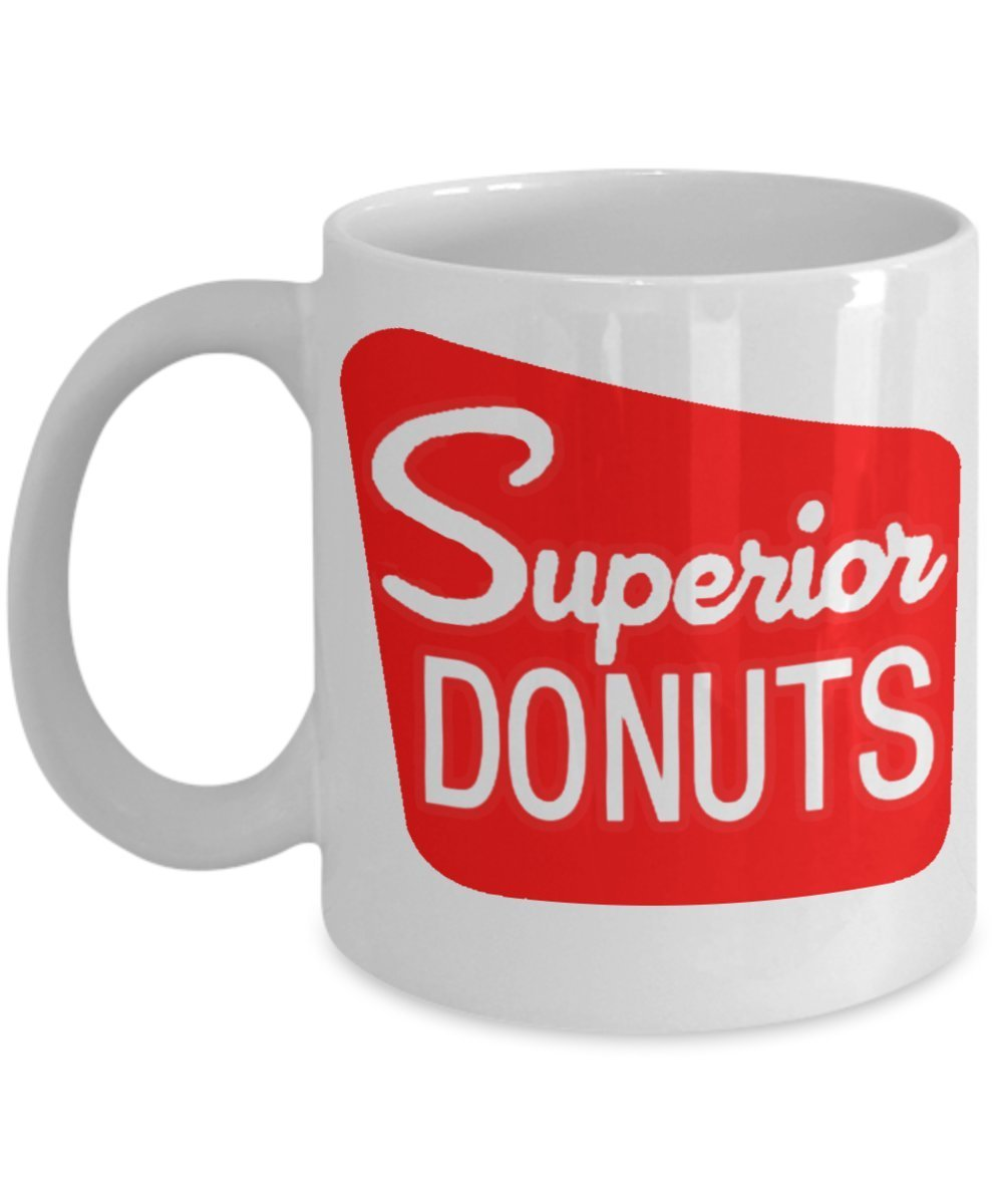Primary image for Superior Donuts TV Coffee Shop Inspired White 11 oz Coffee Mug