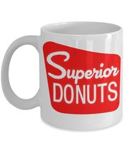 Superior Donuts TV Coffee Shop Inspired White 11 oz Coffee Mug - $15.99