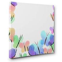 Watercolor Butterflies CANVAS Wall Art Home Décor - $29.70
