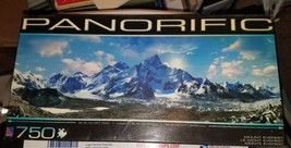 Mount Everest 750 pc. Jigsaw Puzzle Panorific [NEW in Box] - $27.67