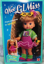 Rare Vintage Wee Lil Miss Bedtime Playtime  Color Change Doll, 1990,#9732-New - $92.99
