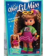 Rare Vintage Wee Lil Miss Bedtime Playtime  Color Change Doll, 1990,#973... - $92.99