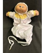 Cabbage Patch Preemie 1978 1982 Bald Blue Eyes Signed Xavier Roberts Col... - $27.67