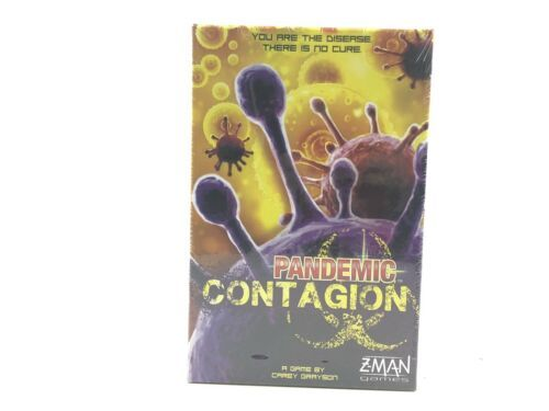 Pandemic Contagion Z-Man Games Stand Alone Board Game ZM7116 New & Sealed - $29.95