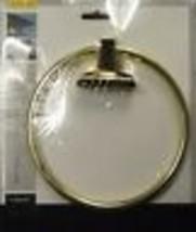 Taymor 02-d9404PB Sunburst Series Towel Ring Polished Brass - $3.47