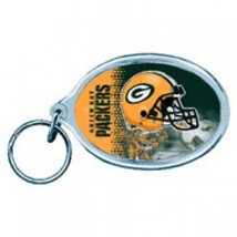 Green Bay Packers Key Ring Acrylic Carded**Free Shipping** - $14.20