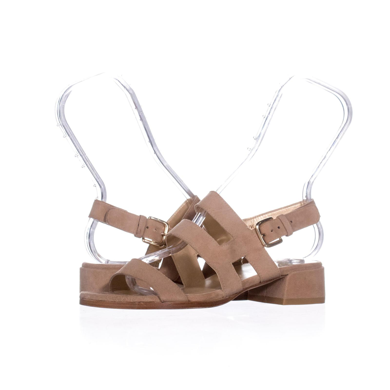 Primary image for Stuart Weitzman Barrio Slingback Sandals 226, Cashew, 5.5 US