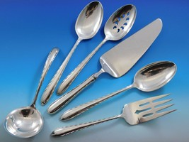 Silver Flutes by Towle Sterling Silver Essential Serving Set Large 6-piece - $295.00