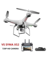 Upgrate New Drone With Camera 720P HD 0.3W White Hover Helikopter VS SYM... - $60.48