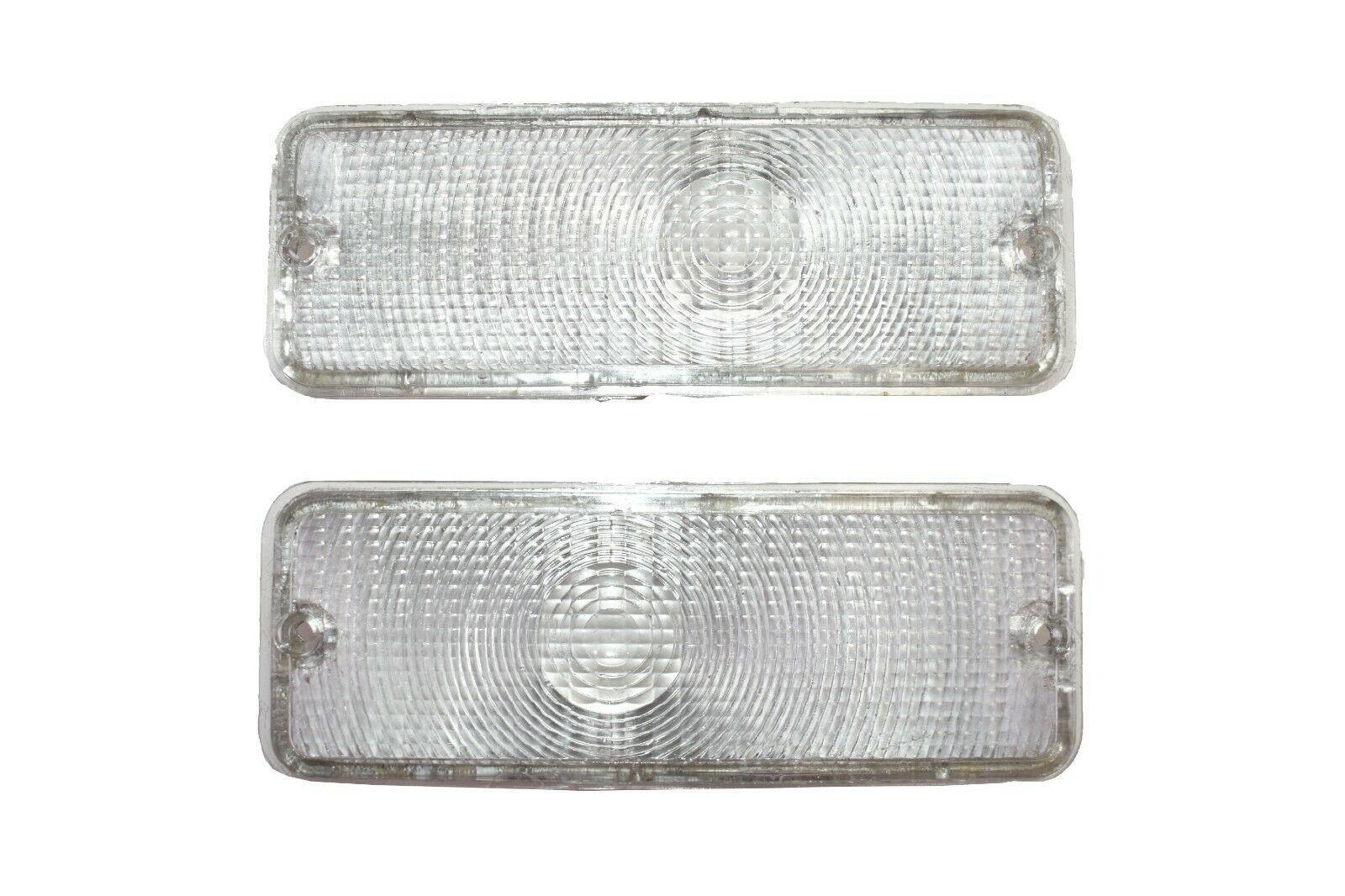 73 74 75 76 77 FORD F-150 F150 F250 F350 Truck Front Turn Signal Lights CLEAR