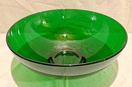 "Vintage Large Kelly Green Fruit / Serving Bowl...10"" Diameter X 4"" Deep - $29.69"