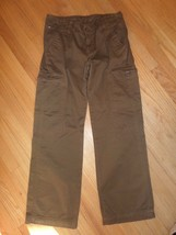 5O/TOMMY Hilfiger Brown Cotton Cargo PANTS/MENS/NWT/29! - $29.65