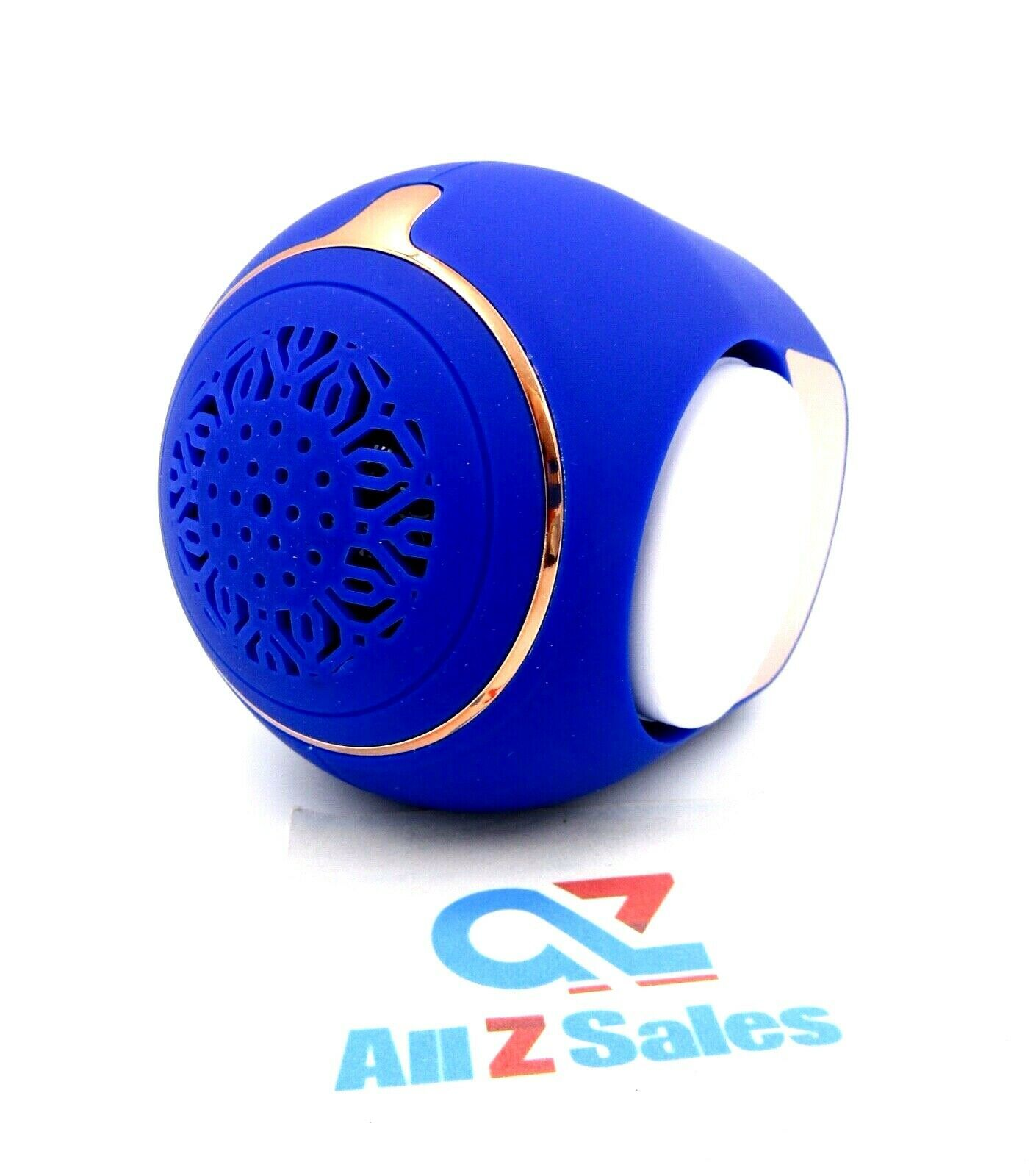 Primary image for Golden Eggs Wireless Mini Bluetooth Speaker, Portable. FZ-07 Blue Color - New