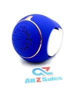 Golden Eggs Wireless Mini Bluetooth Speaker, Portable. FZ-07 Blue Color ... - $29.65
