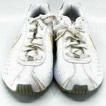 Nike Shox Classic II Women's White & Silver Running Sneaker Size 10 343907-111 image 2