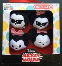 Disney Tsum Tsum Mickey and Minnie Mouse 4-pack Target Exclusive - Plush... - $17.63