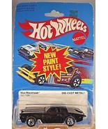 1981 Vintage Hot Wheels #1126 STUTZ BLACKHAWK Black w/BW Spoke Wheels Ho... - $17.82