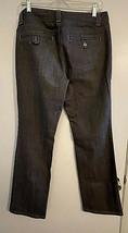 Ann Taylor Modern Fit Lindsay Waist Gray Denim Jeans Pants Womens Size 8 - $9.85