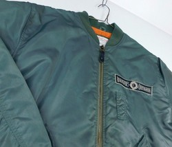 Conquest Jack Chevignon Roads International Roadster's Sz XL Green Bombe... - $74.99