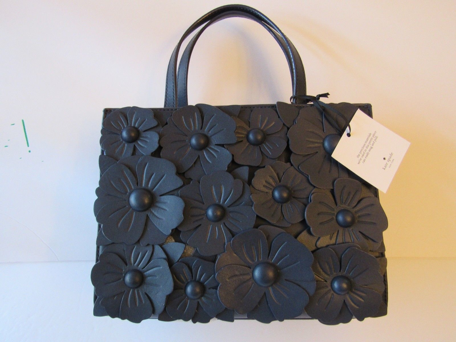 Primary image for Kate Spade Madison DAISY LANE Sam Leather Handbag Blazer Blue PXRU8739 SOLD OUT!