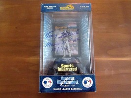 TRACY STALLARD ROGER MARIS 61ST HOME RUN 10/1/61 SIGNED AUTO PEWTER LE F... - $197.99