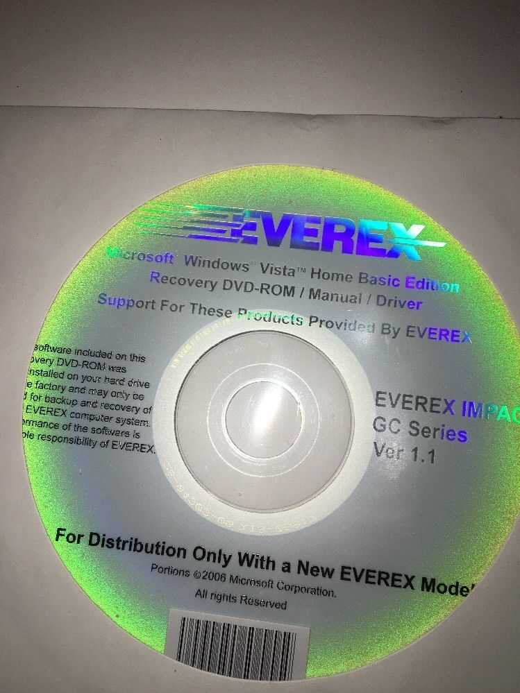 everex microsoft windows vista home basic and 48 similar items rh bonanza com Microsoft XP Windows Vista Business
