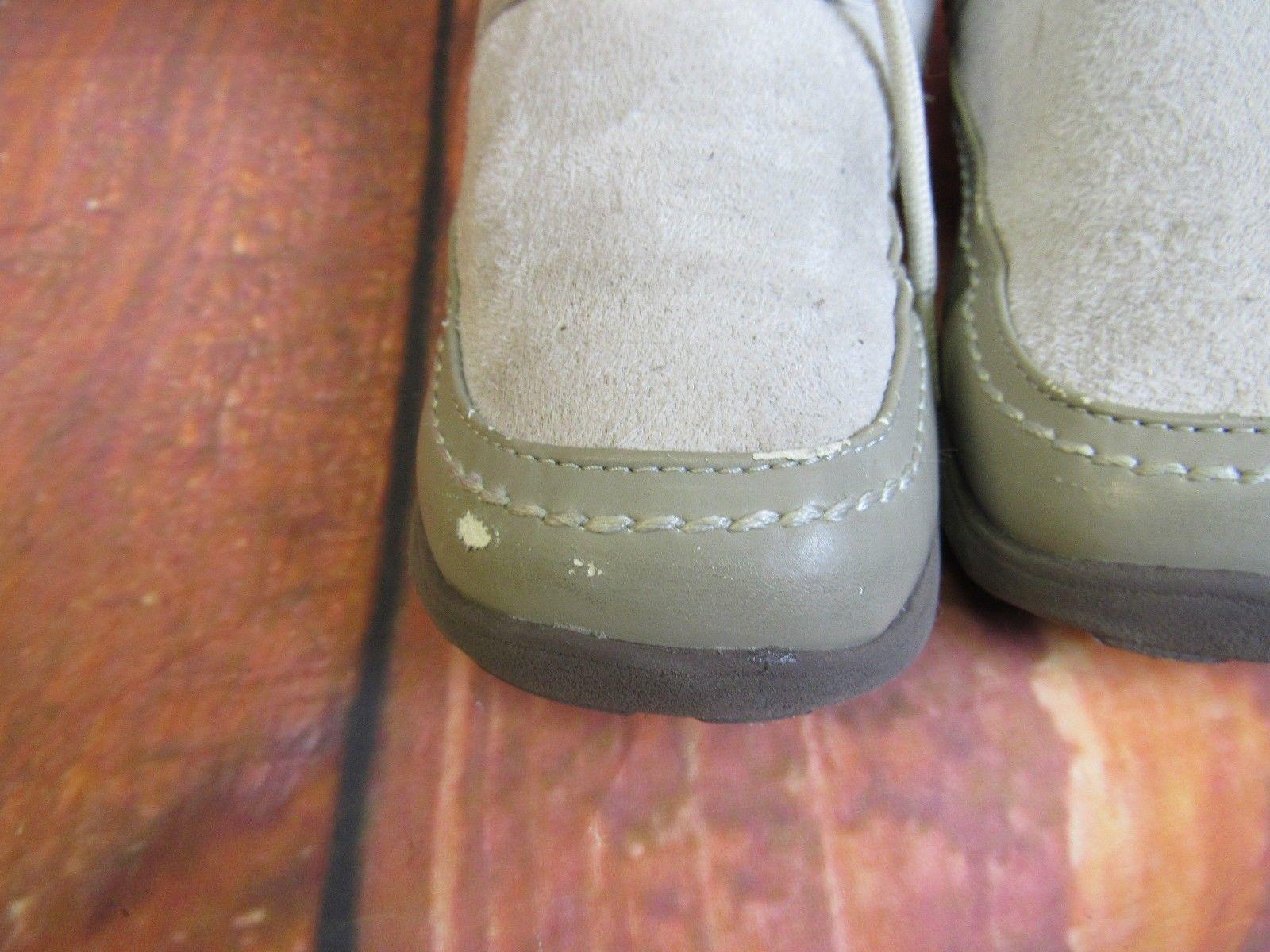 NINE WEST Winter Boots Size 3 Beige Lace Up