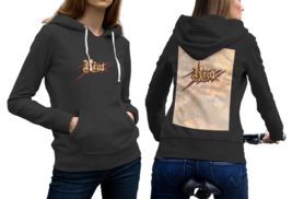 RIOT band Black Cotton Hoodie For Women - $29.99+