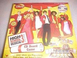 Disney High School Musical 3 Senior Year CD Board Game - $9.48