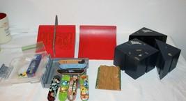 Lot Tech Deck Fingerboard Ramp Lot Ramps 7 boards , wheel kit  case for boards - $35.64