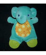 NEW BABY BRIGHT STARTS BLUE ELEPHANT CHEW / TEETHER STUFFED ANIMAL PLUSH... - $18.70